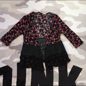 🛍$9 IF BUNDLE. Kimchi blue floral cardigan